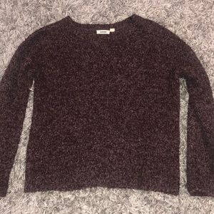 Garage burgundy sweater